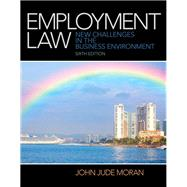 Employment Law by Moran, John J., 9780133075229