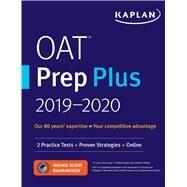 Kaplan Oat Prep Plus 2018-2019 by Kaplan Test Prep, 9781506235233