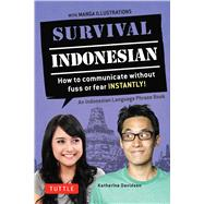 Survival Indonesian by Davidsen, Katherine, 9780804845236