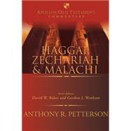 Haggai, Zechariah and Malachi by , 9780830825240