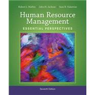 Human Resource Management Essential Perspectives by Mathis, Robert L.; Jackson, John H.; Valentine, Sean R., 9781305115248