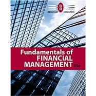 Fundamentals of Financial Management by Brigham, Eugene F.; Houston, Joel F., 9781337395250