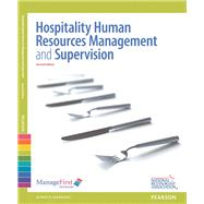 ManageFirst Hospitality Human Resources Management & Supervision with Answer Sheet by National Restaurant Association, 9780132175258