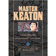 Master Keaton 10 by Urasawa, Naoki; Katsushika, Hokusei, 9781421585260