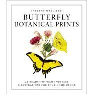 Butterfly Botanical Prints by Adams Media, 9781507205280