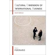 Cultural Dimension of International Business by Ferraro, Gary Professor Emeritus, 9780205645282