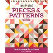 Pieces & Patterns Page-a-month Easel 2016 Calendar by Workman Publishing Co., Inc.; OneCanoeTwo, 9780761185284