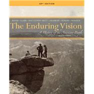 THE ENDURING VISION AP LEVEL 3, 8th by Boyer/Clark/Kett/Salisbury, 9781133945284