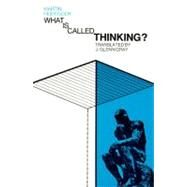 What Is Called Thinking? by Heidegger, Martin, 9780060905286
