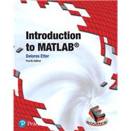 Introduction to MATLAB by Etter, Delores M., 9780134615288