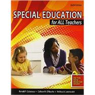 Special Education for All Teachers by COLARUSSO, RONALD P, 9781465215291