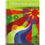 Abriendo Paso 2012 Lectura Student Edition by Prentice Hall, 9780133175295