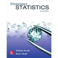 Elementary Statistics with Formula Card by Navidi, William; Monk, Barry, 9781259345296