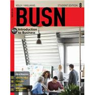 BUSN 8 by Kelly, Marcella; Williams, Chuck, 9781285775296