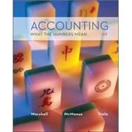 Accounting: What the Numbers Mean by Marshall, David; McManus, Wayne; Viele, Daniel, 9780078025297