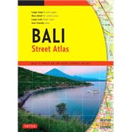 Bali Street Atlas by Periplus Editions, 9780804845298