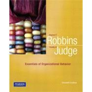 Essentials of Organizational Behavior by Robbins, Stephen P.; Judge, Timothy A., 9780132545303