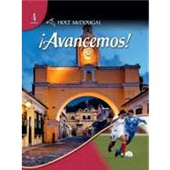 Avancemos Level 4 Student Edition by Ana C. Jarvis, Raquel Lebredo, 9780554025308