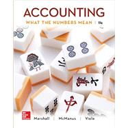 Accounting: What the Numbers Mean by Marshall, David; McManus, Wayne; Viele, Daniel, 9781259535314