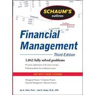 Schaum's Outline of Financial Management, Third Edition by Shim, Jae; Siegel, Joel, 9780071635318