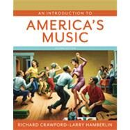 An Introduction to America's Music (with reg card) by CRAWFORD,RICHARD, 9780393935318
