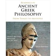 Readings in Ancient Greek Philosophy: From Thales to Aristotle by Cohen, S. Marc; Curd, Patricia; Reeve, C.D.C., 9781624665325