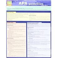 Apa Guidelines by Smith, Thomas; Turch, Kaitlyn, 9781423225331
