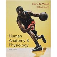 Human Anatomy & Physiology, Mastering A&P with Pearson eText  & ValuePack Access Card, Brief Atlas of the Human Body by Marieb, Elaine N.; Hoehn, Katja N., 9780134085333