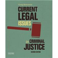Current Legal Issues in Criminal Justice Readings by Hemmens, Craig, 9780199355334