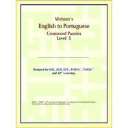 Webster's English to Portuguese Crossword Puzzles: Level 5 by ICON Reference, 9780497255336