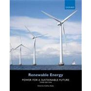 Renewable Energy Power for a Sustainable Future by Boyle, Godfrey, 9780199545339