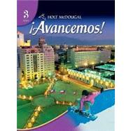 �Avancemos! Level 3 Student Edition by Gahala,Carlin, Heinina,Boyhton, 9780554025339