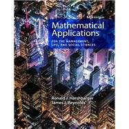 Mathematical Applications for the Management, Life, and Social Sciences by Harshbarger, Ronald J.; Reynolds, James J., 9781337625340