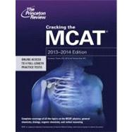 Cracking the MCAT, 2013-2014 Edition by PRINCETON REVIEW, 9780307945341