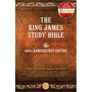 The King James Study Bible: King James Version, Brown Genuine Leather by Thomas Nelson Publishers, 9781418545352