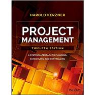 Project Management by Kerzner, Harold, Ph.D., 9781119165354