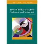 Social Conflict by Pruitt, Dean; Rubin, Jeffrey; Kim, Sung Hee, 9780072855357