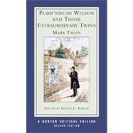 Pudd'Nhead Wilson Nce 2E PA by Twain,Mark, 9780393925357