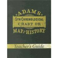 Adams Syn Chronological Chart of Map of History by Master Books, 9780890515358