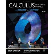 Calculus of a Single Variable, 11th by Larson, 9781337275361