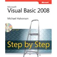 Microsoft Visual Basic 2008 Step by Step by Halvorson, Michael, 9780735625372
