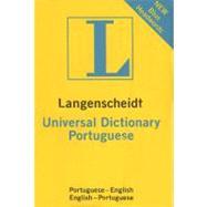 Langenscheidt's Universal Portuguese Dictionary: Portuguese - English / English - Portuguese