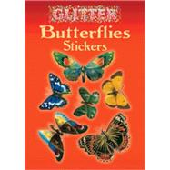 Glitter Butterflies Stickers by Samuel, Anna, 9780486435374