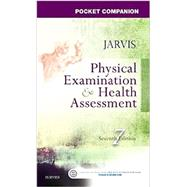 Physical Examination and Health Assessment Pocket Companion by Jarvis, Carolyn, Ph.D.; Thomas, Pat; Strandberg, Kevin, 9780323265379