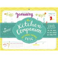 The Kitchen Companion Page-a-week 2016 Calendar by Smith, Sarah, 9780761185383