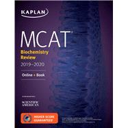 Mcat Biochemistry Review 2019-2020 + Online Access Card by Kaplan Test Prep, 9781506235387