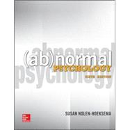 Abnormal Psychology by Nolen-Hoeksema, Susan, 9780078035388