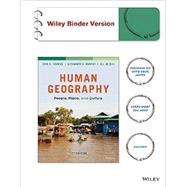 Human Geography: People, Place, and Culture, Eleventh Edition Loose-leaf Print Companion by Fouberg, Erin H.; Murphy, Alexander B.; De Blij, Harm J., 9781118995389
