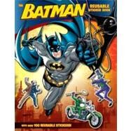 Batman Classic : The Batman Reusable Sticker Book by SAZAKLIS JOHN, 9780061885396