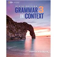 Grammar in Context 3 by Elbaum, Sandra N., 9781305075399